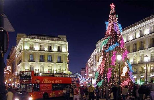 Madrid en Navidad y Nochevieja