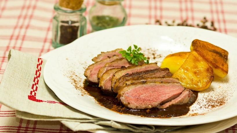 Magret de canard for 10 platos tipicos de francia