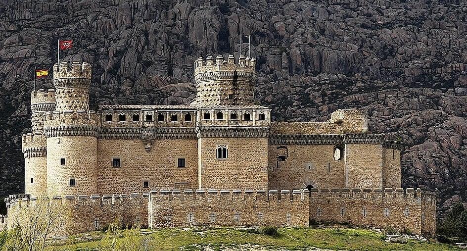 Castillos y Fortalezas de España Manzanares-del-Real-MAD