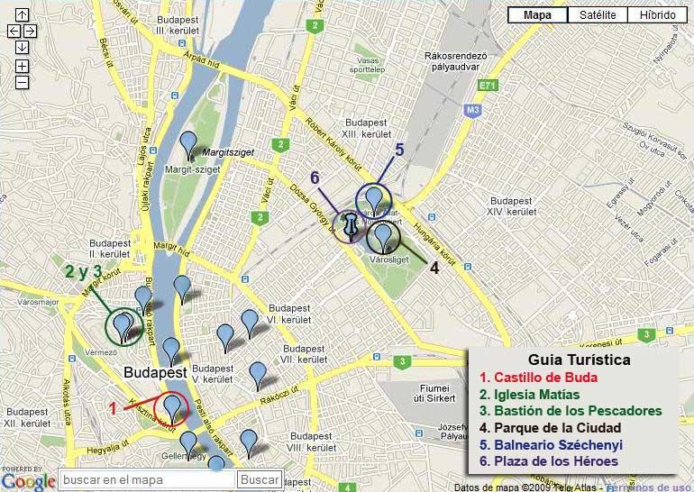 Mapa Turistico Budapest Pdf.Mapa Turistico De Budapest
