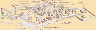 Mapa Parque Tematico Tierra Santa