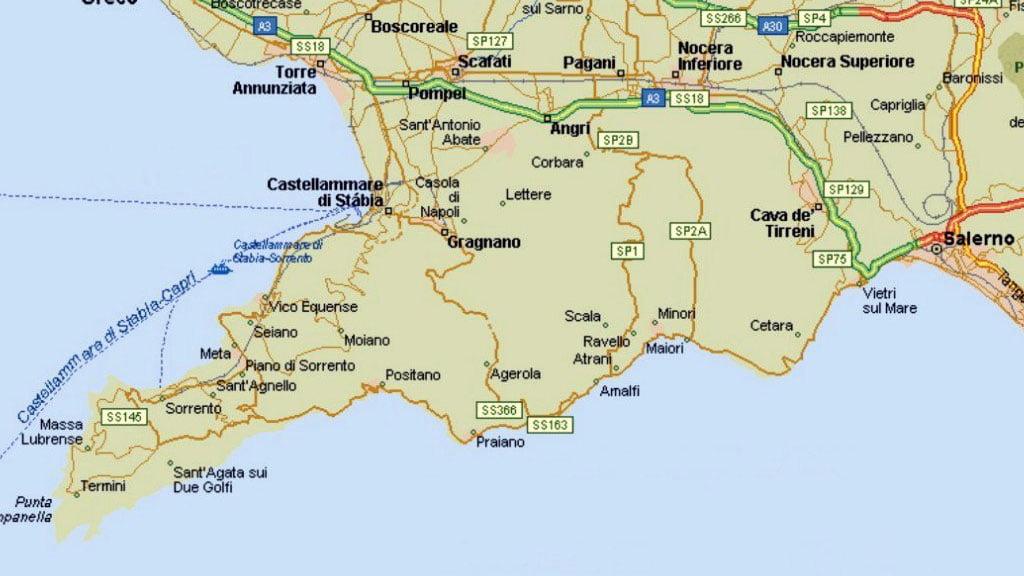 Mapa poltico de Italia regiones y capitales