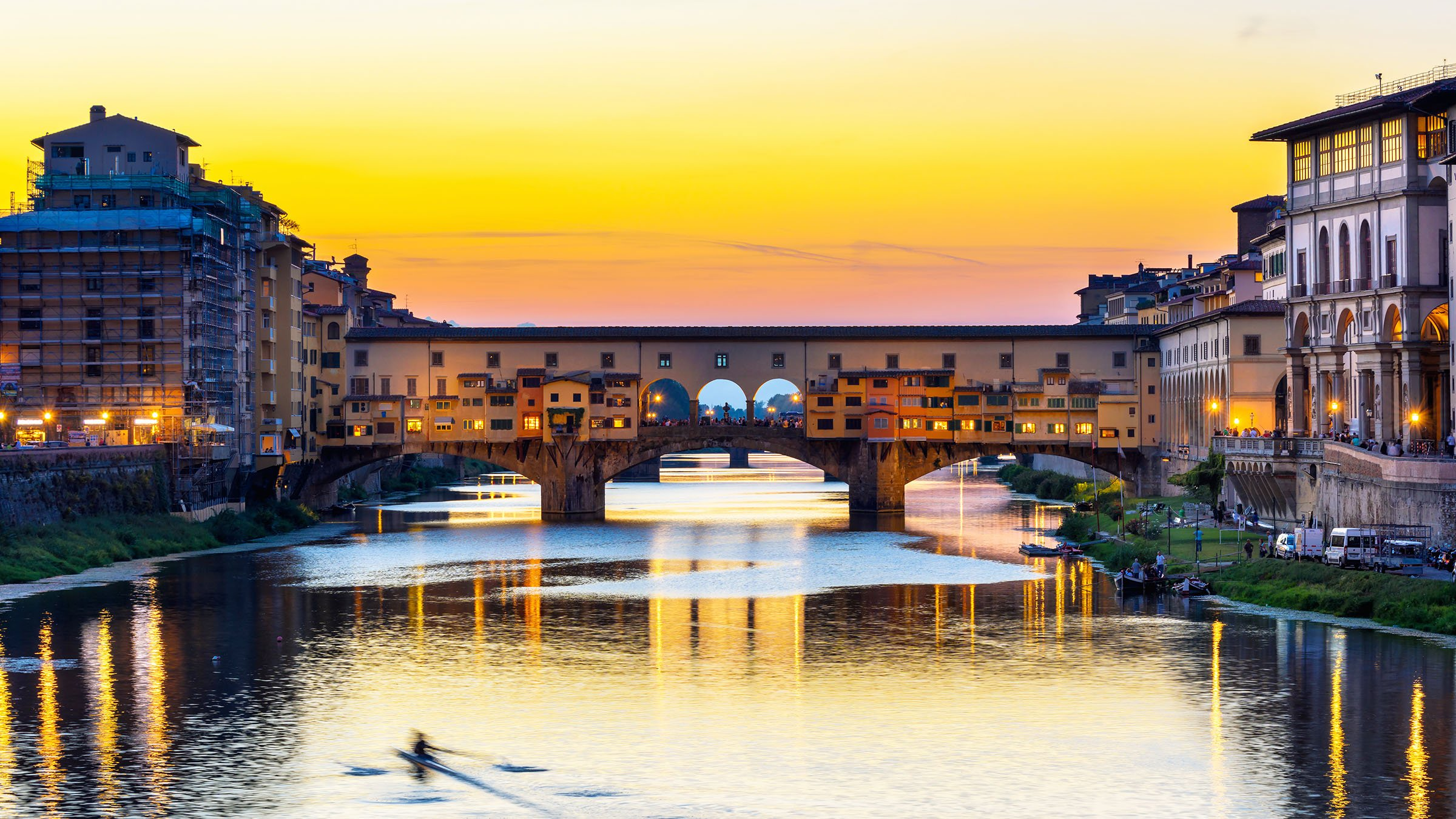 Mapa turístico de Florencia