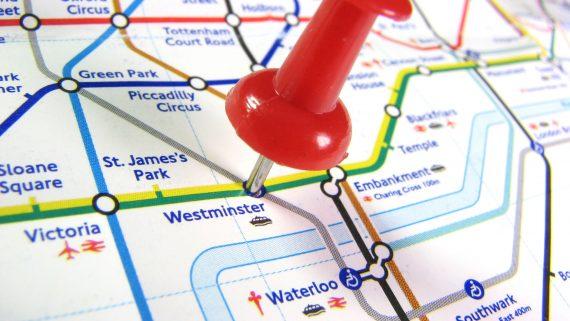 Moverse en metro por Londres