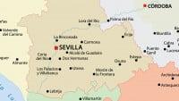 Plano de la ciudad de Sevilla