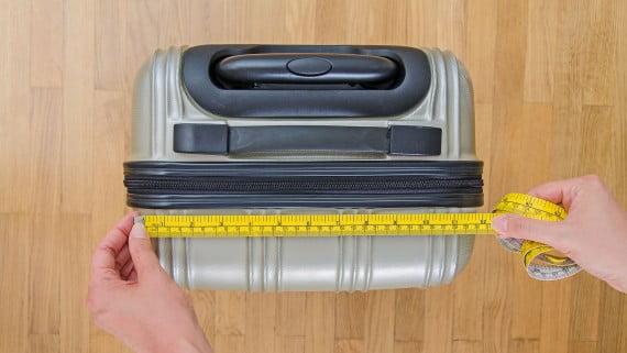 Medidas del equipaje de mano por compañía aérea