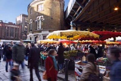 Mercadillo en Londres