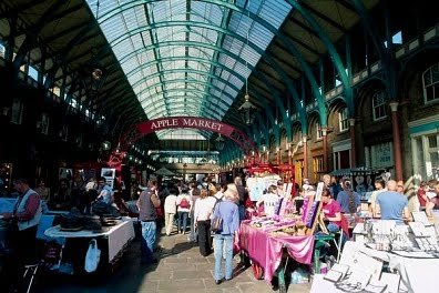 Mercadillos en Londres Covent Garden