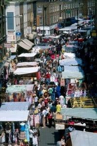 Mercadillos en Londres Portobello mercado