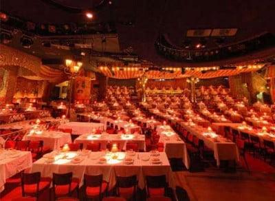 Mesas de cena Moulin Rouge