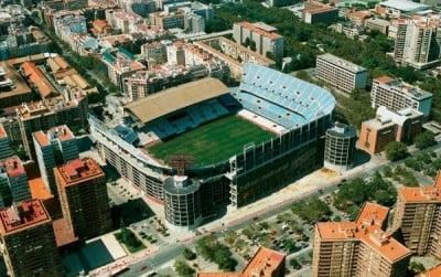 Estadio de fútbol del Valencia CF