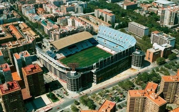 Estadio de f tbol del valencia cf - Campo de futbol del valencia ...