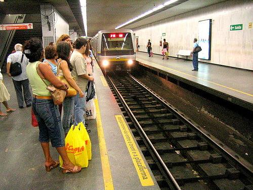 Metro en Rio de Janeiro