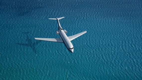 海の上を飛ぶことへの恐怖:疎水性