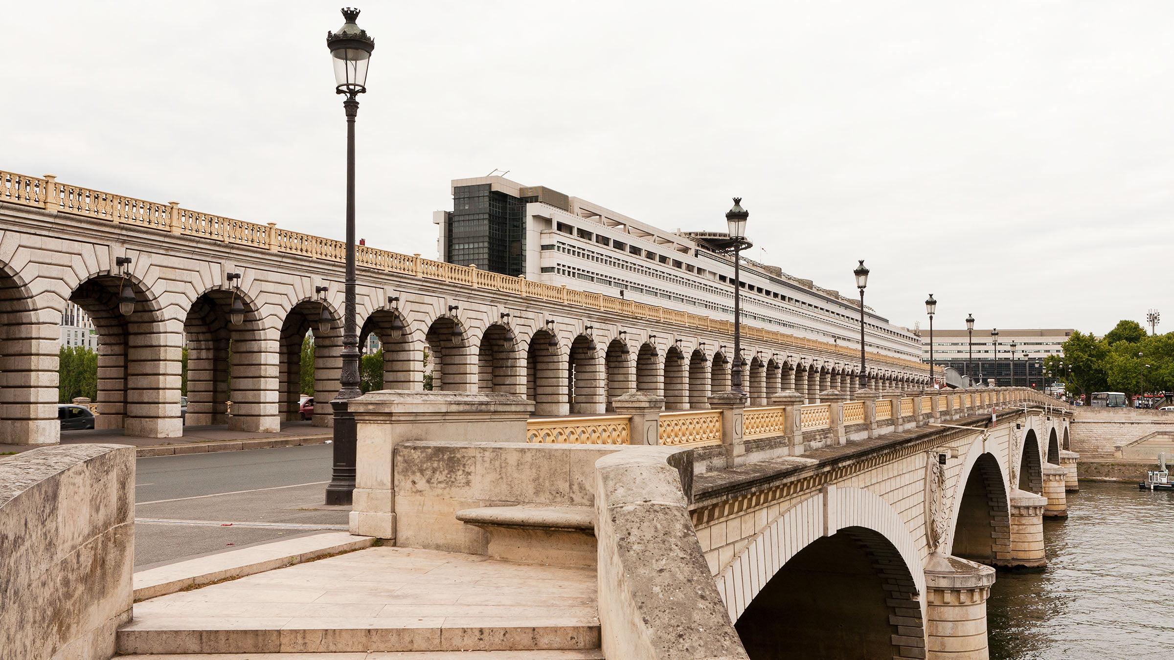Moderno barrio de Bercy