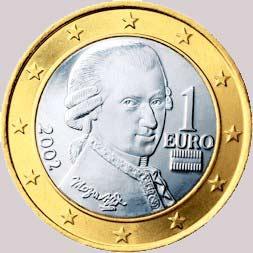 Moneda un euro Austria