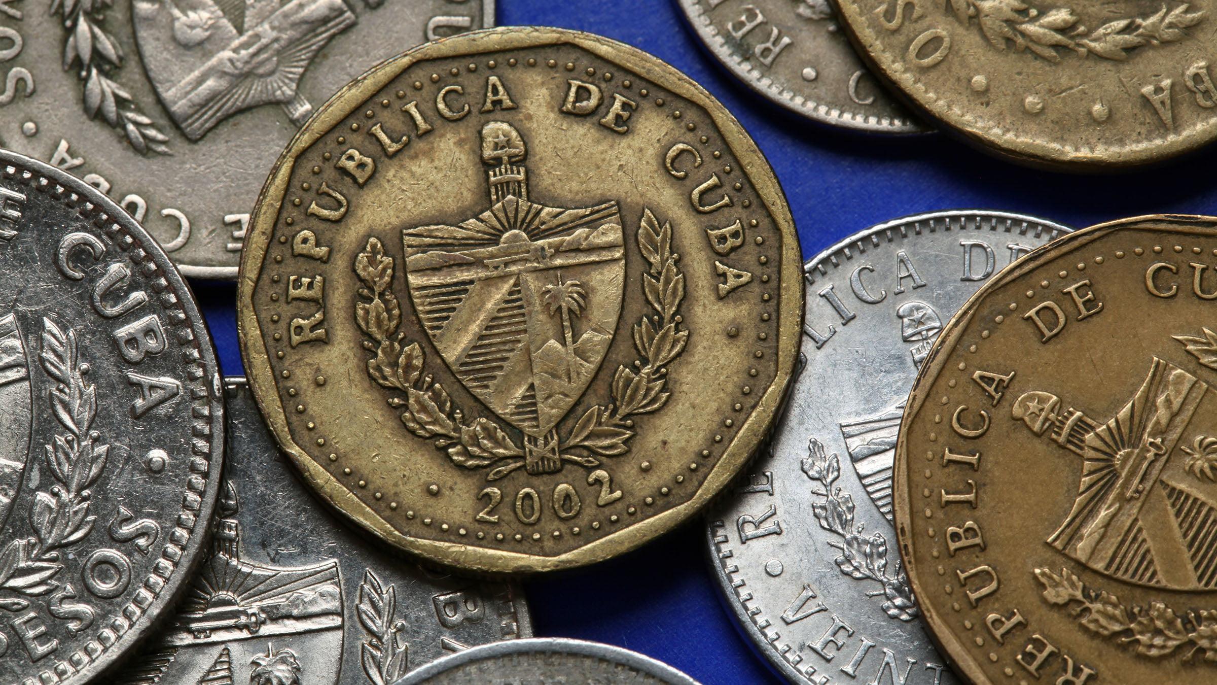 Monedas Cuba