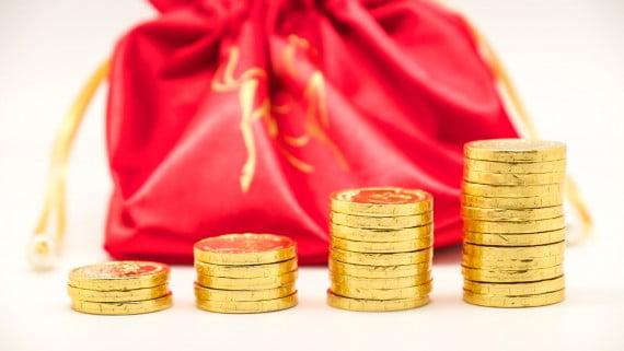 中國葬禮中葬禮期間的巧克力硬幣