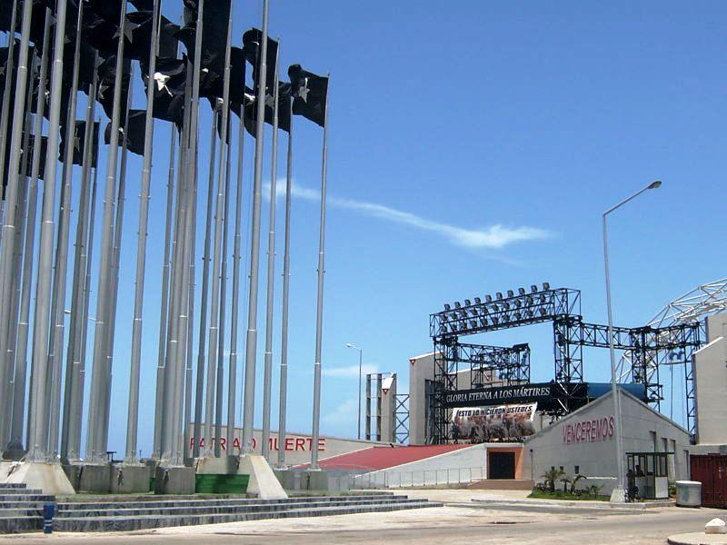 Monte de las Banderas en Cuba