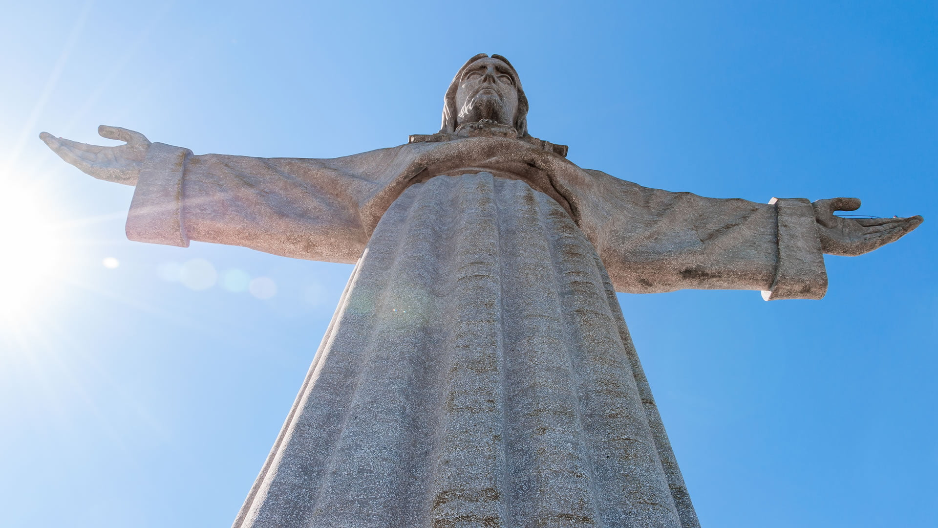 Monumento Nacional del Cristo Rey, Almada, Portugal