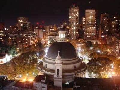 Monumento de Buenos Aires en Argentina - Iglesia Redonda