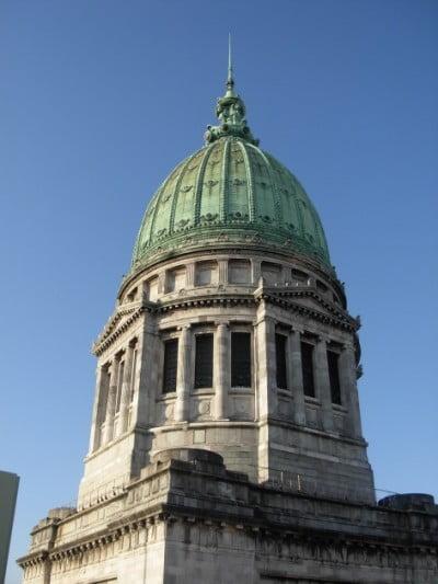 Monumentos Buenos Aires - Cupula Congreso de la nacion