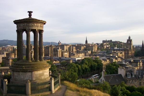 Monumentos de Calton Hill Edimburgo