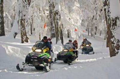 Moto de nieve en Andorra
