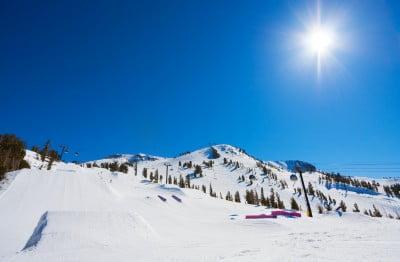 Moto de nieve en Cerler