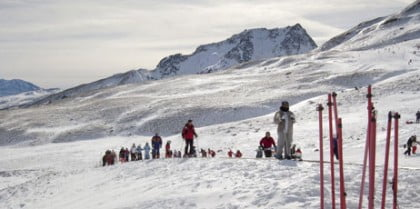 Motos de nieve España