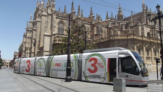 Getting around Seville by Metro