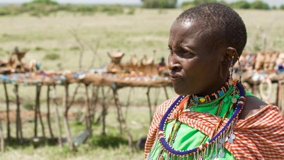 Mujer Masai