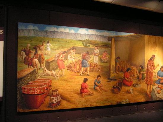 Mural del Museo de la Nacion