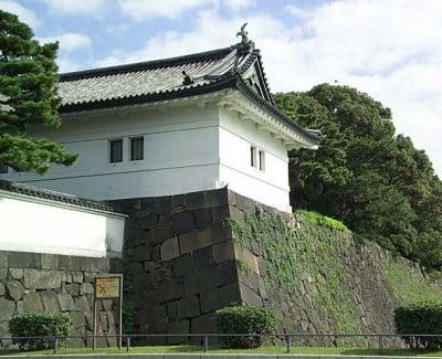Muralla en los alrededor de Kokyo
