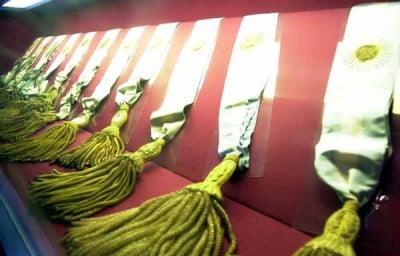 Museo Casa Rosada en Argentina - Bandas presidenciales argentinas