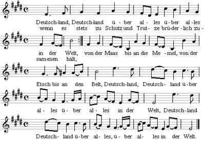 Musica de Deutschlandlied
