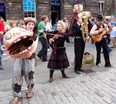 Musicos en la calle