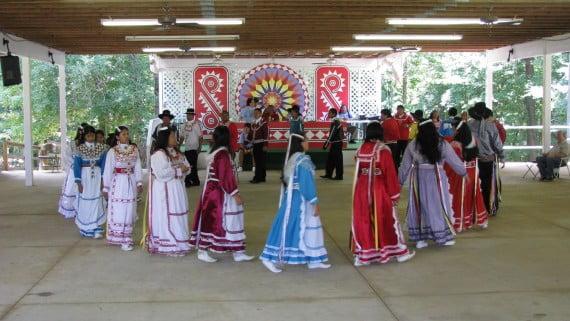 Nativos choctaw, en el condado de Neshoba (Mississipi)