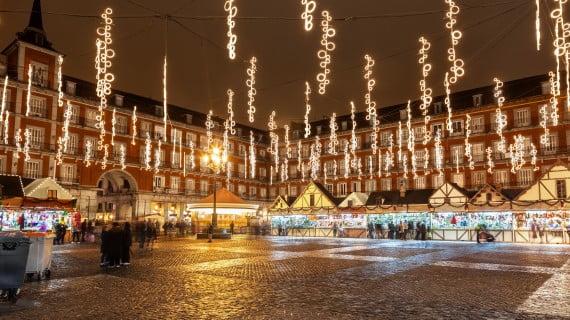 Feria de Navidad de Madrid