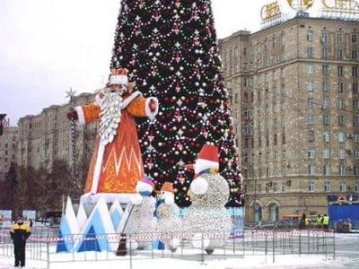 Navidades en Rusia