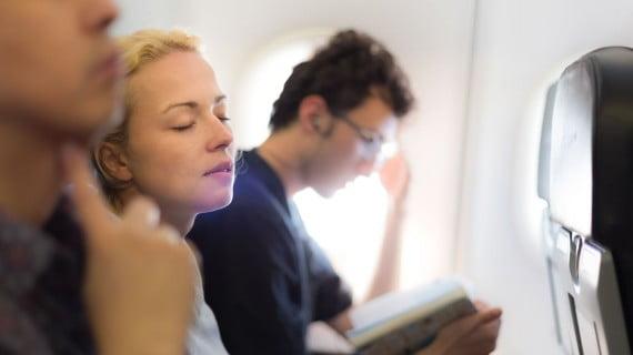Verlieren Sie bei langen Flügen nicht die Geduld