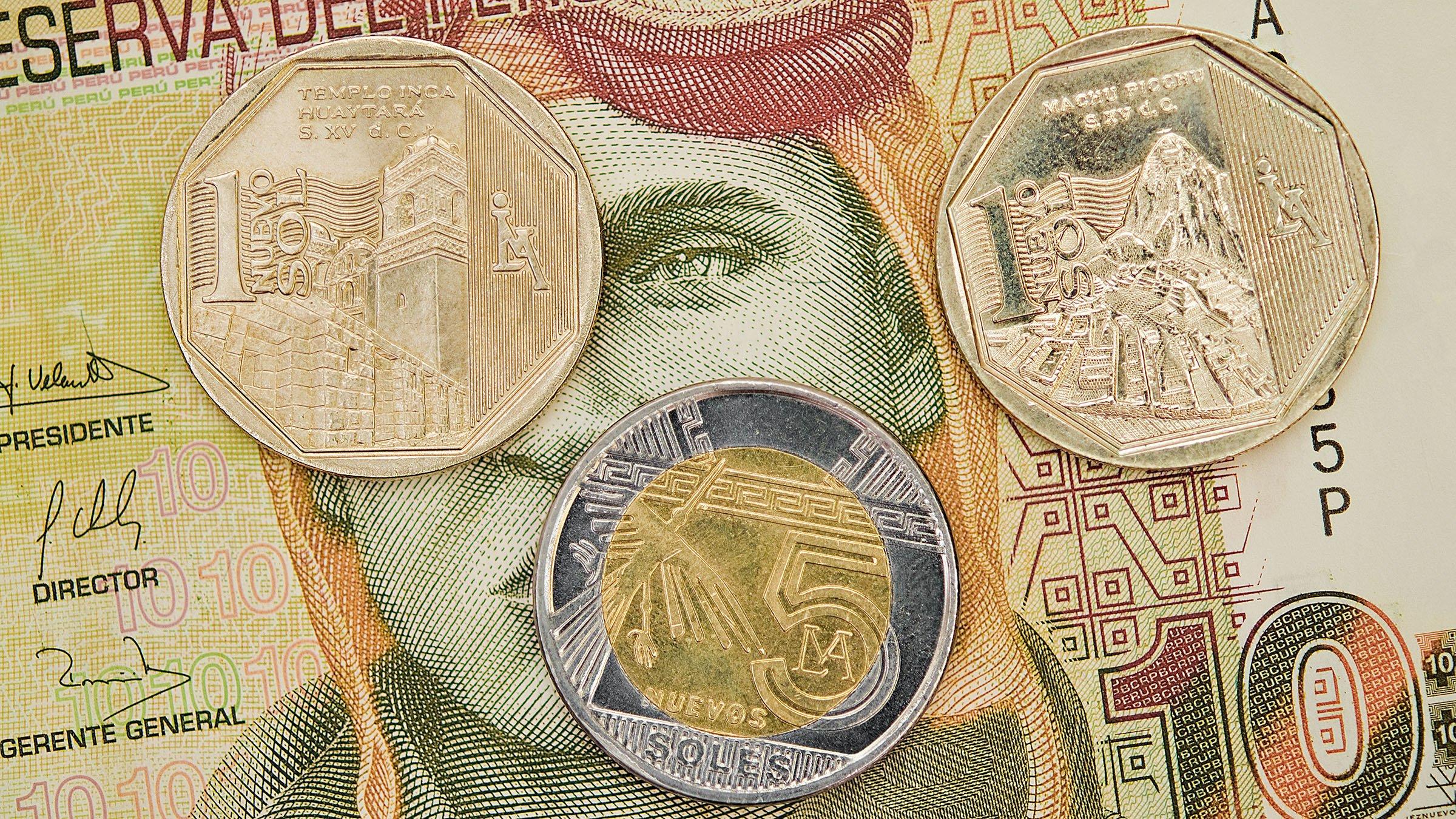El nuevo sol: la moneda vigente en Perú hasta 2015