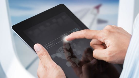 Llevar aparatos electrónicos en cabina con Ryanair