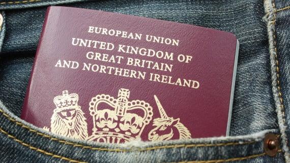 Λάβετε το βρετανικό διαβατήριο