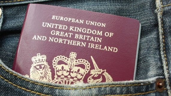 Get the British passport