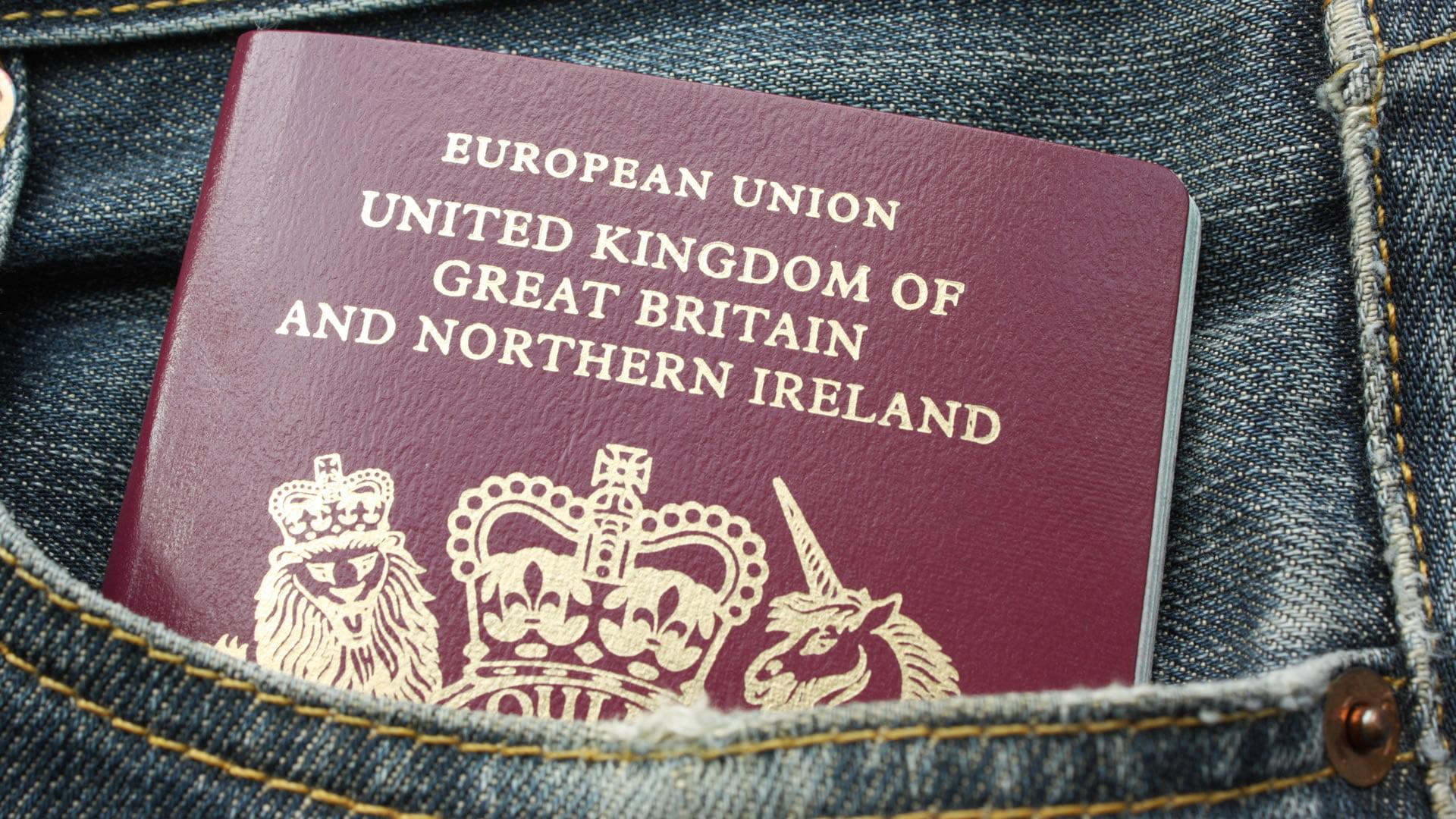 Obtener el pasaporte británico