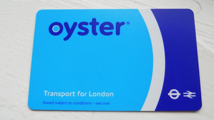 Oyster Travelcard