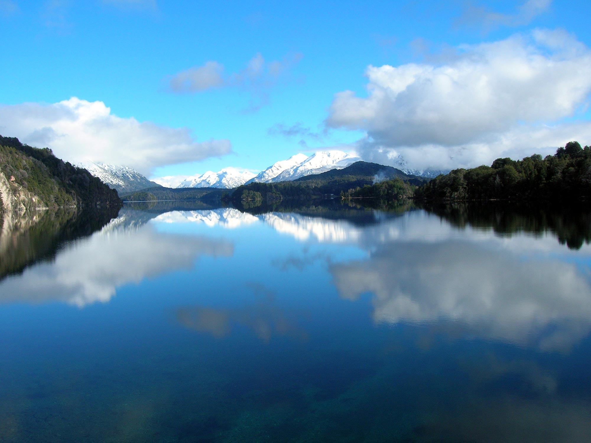 Paisaje Lago - Argentina