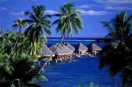 Paisaje de Tahiti