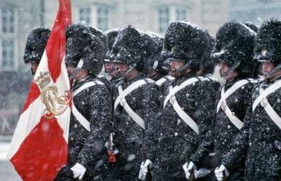 Palacio Real en invierno